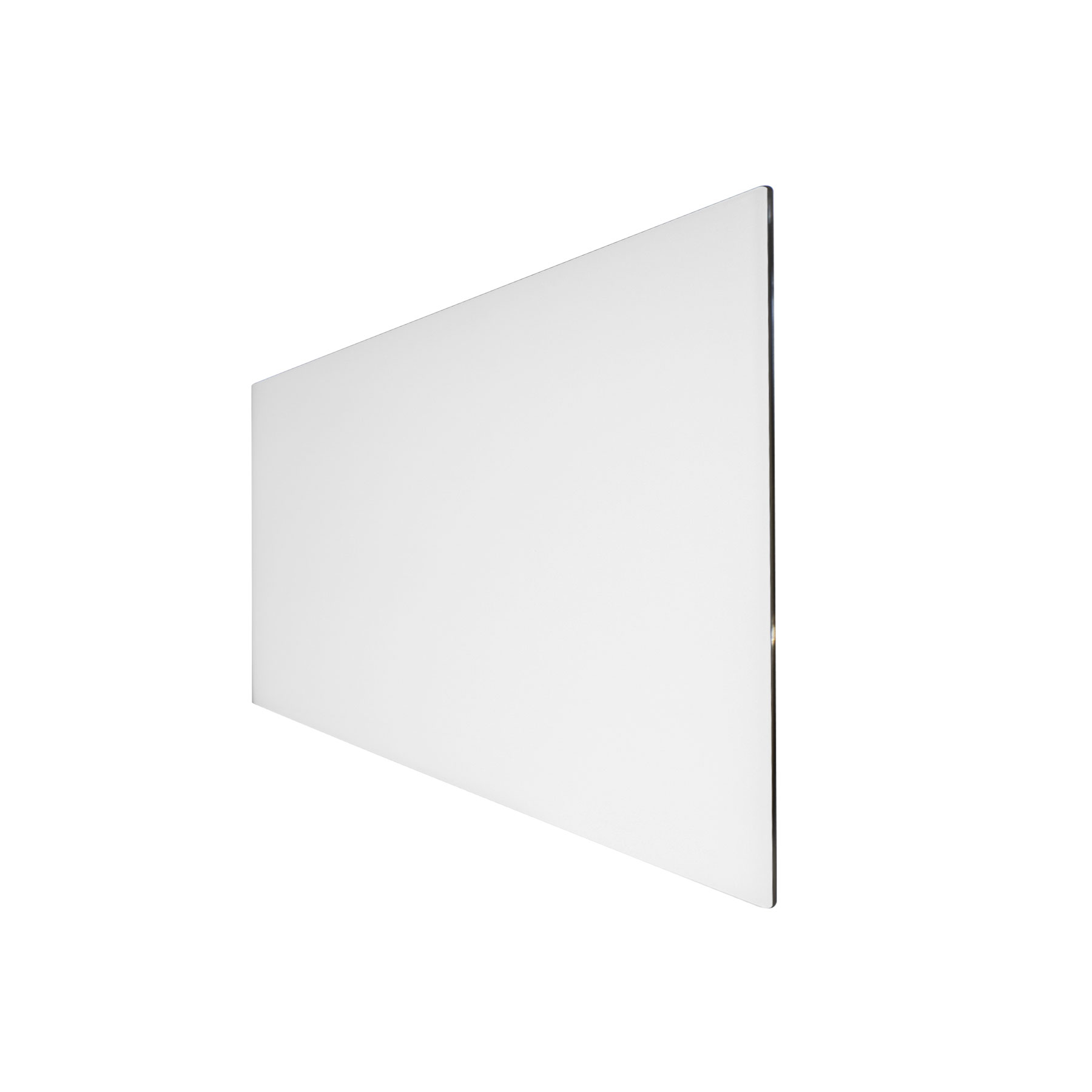 Technotherm Design Glass - White 454mm