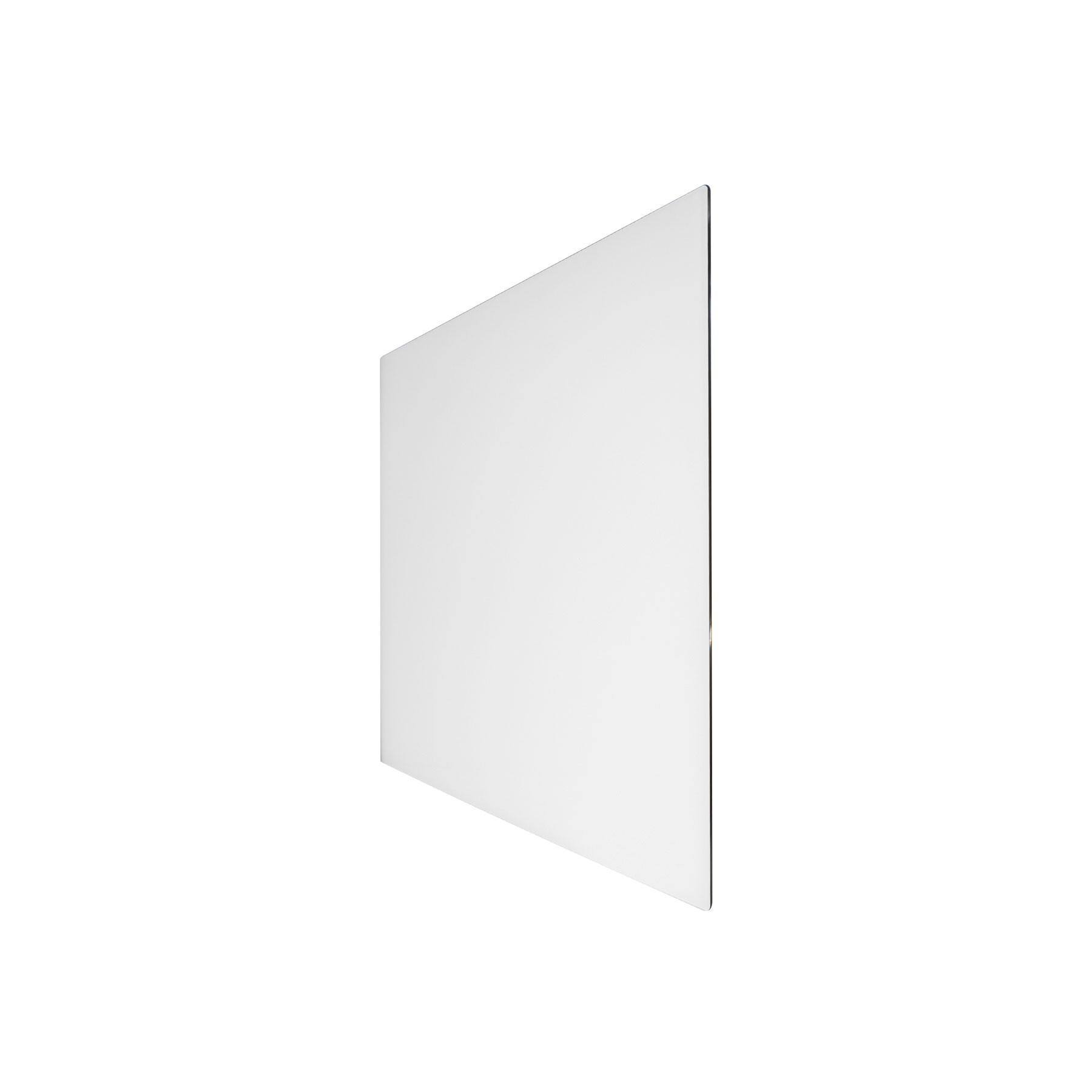 Technotherm Design Glass - White 690mm