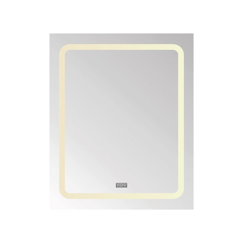Cürv LED Infrared Mirror Panel - Straight