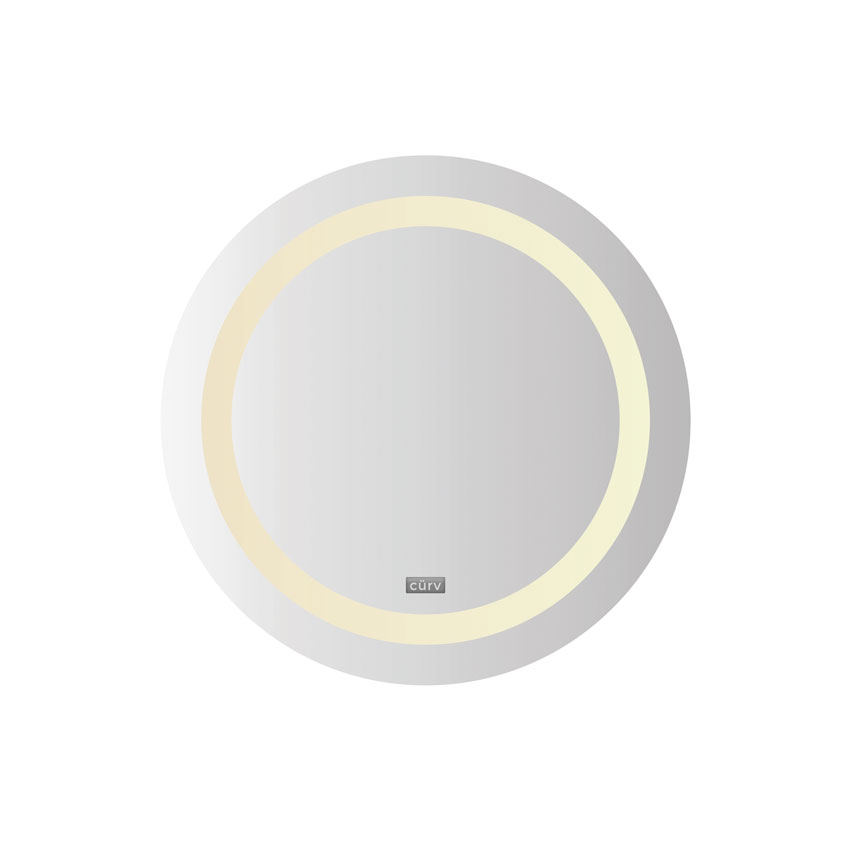 Cürv LED Infrared Mirror Panel - Round