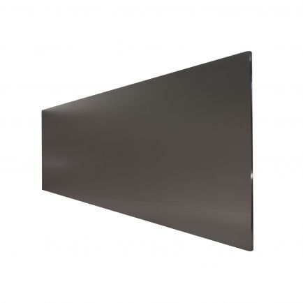 Technotherm ISP Design Glass Infrared Heating Panel - Black 500w (1350 x 454mm)