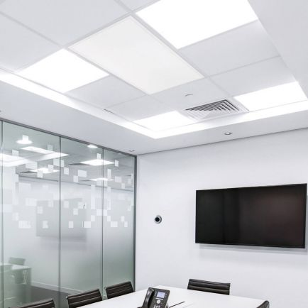 Cürv Ceiling Tile Infrared Panels – White