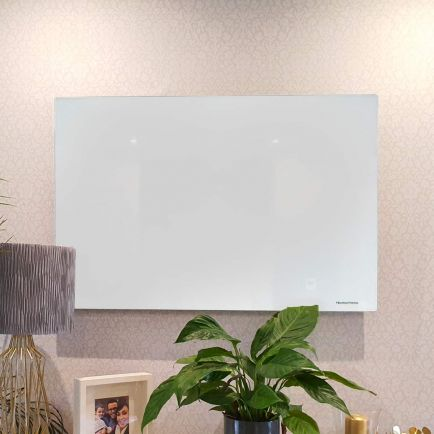 Technotherm ISP Design Glass Infrared Heating Panels - White 454mm