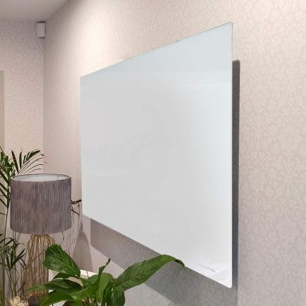 Technotherm ISP Design Glass Infrared Heating Panels - White 690mm