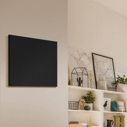 Technotherm ISP Frameless Infrared Heating Panels - Black 400mm