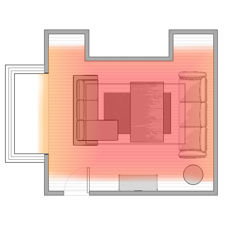 Alcove Auburn Infrared Electric Heater