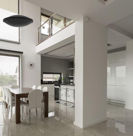 Ceramic Heater in Lofty Interior