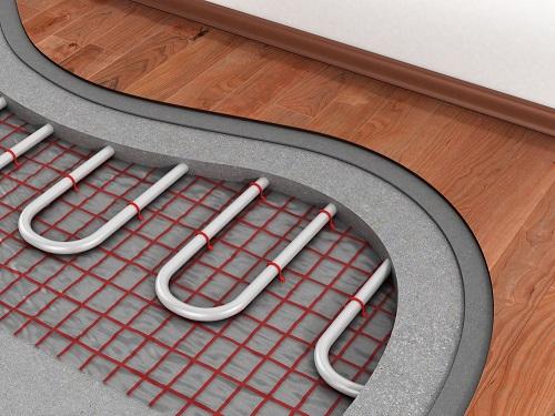 Underfloor Heating Layers